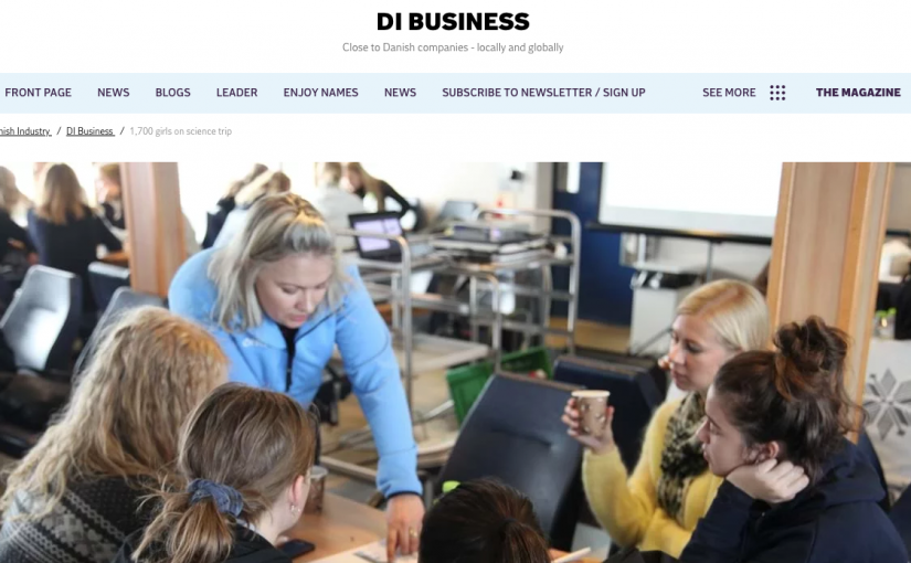 FemTech.dk featured on Dansk Industri news